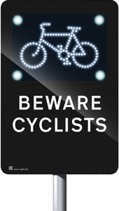 iSight-CSS (Cycle Safety Sign)